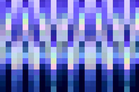 Abstract mosaic, predominantly shades of blue, for background and decoration