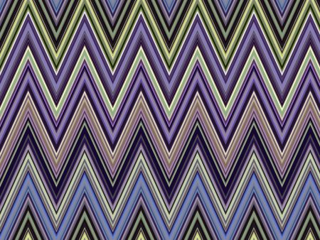 Parti-colored geometric abstract of sharp zigzags for decoration and background with themes of repetition, variation, synergy