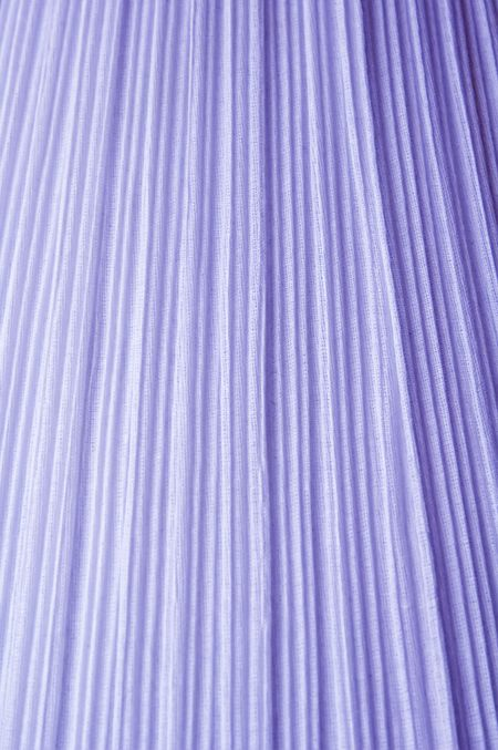 Window curtain with many folds