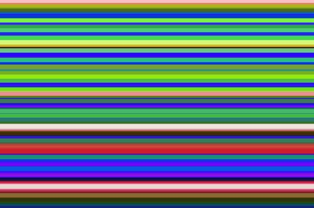 Multicolored background of horizontal stripes for themes of parallelism, straightness, or variation