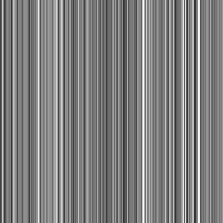 Flippable abstract of many thin parallel vertical stripes, in black and white, for decoration or background with themes of repetition, digital technology, or variation