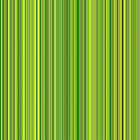 Flippable abstract of many thin parallel vertical stripes, with predominance of green and yellow, for decoration or background with themes of repetition, digital technology, or variation