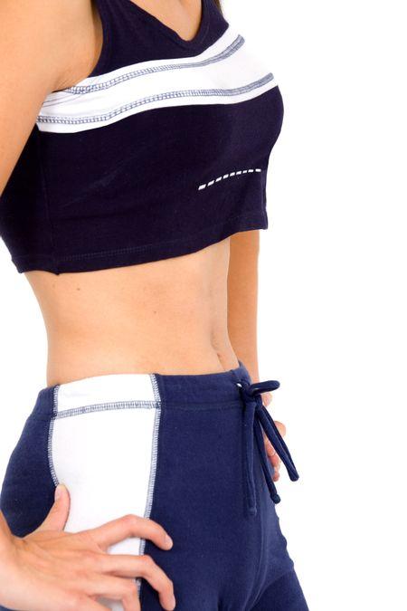 fitness female torso over a white background