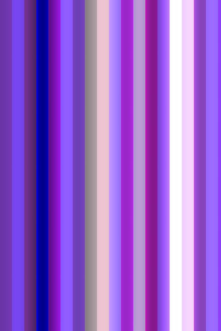Abstract background of thick vertical stripes, mostly in shades of violet and magenta, for motifs of parallelism or variation