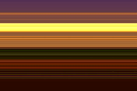Multicolored abstract sunset of horizontal stripes for decoration and background