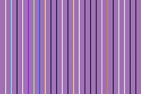 Abstract pattern of thin vertical bars with uniform spacing on background of slightly desaturated violet, for themes of conformity, variation, alternation
