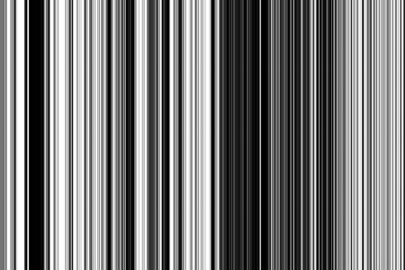 Abstract of vertical stripes, in black and white, for decoration and background with themes of variation or parallelism