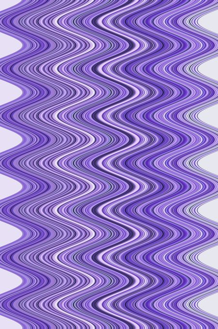 Abstract with squiggly symmetry, mostly in shades of violet, for decoration and background