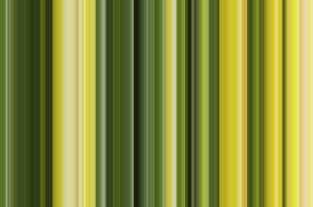 Abstract of parallel vertical stripes, mostly greens and yellows, for motif of variation in background and decoration