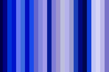 Simple abstract of thick vertical stripes in shades of blue for motifs of parallelism and variation in decoration and background