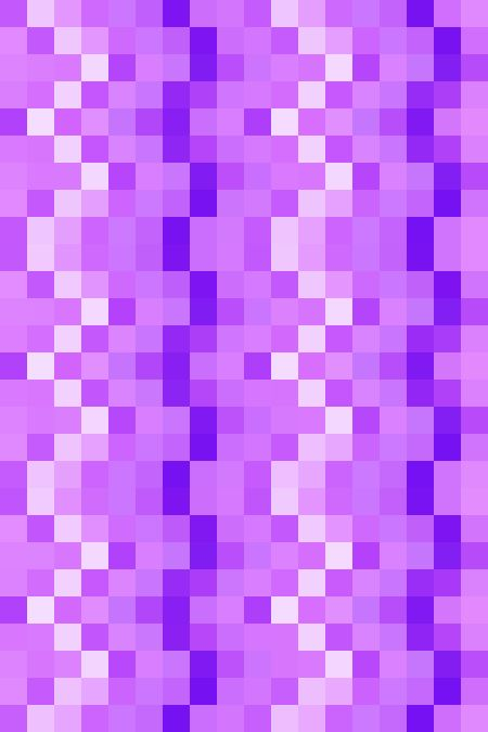 Mosaic abstract of squares in rows and columns, in shades of violet, for decoration and background