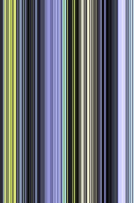 Multicolored, multi-striped abstract of conformity, repetition, and variation for decoration and background