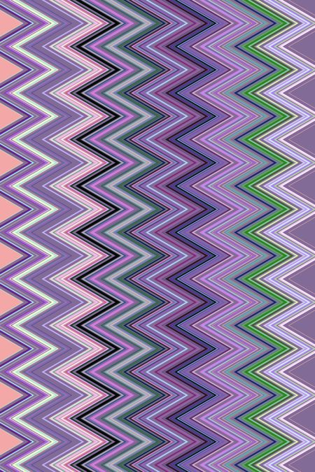 Zigzag pattern for decoration and background with themes of repetition, conformity, alternation