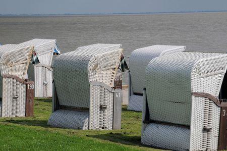 the beach of wilhelmshaven