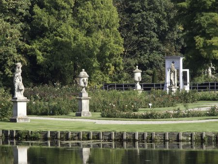 Castle and park of anholt