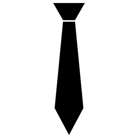 Vector Illustration of Tie Icon in Black | Freestock Icons