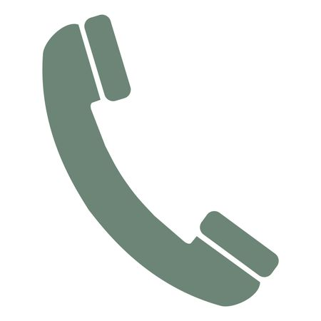 Vector Illustration Of Green Phone Icon Freestock Icons
