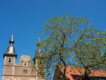 raesfeld and his castle in germany