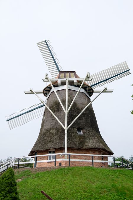 mills in the german east frisia