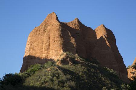 Peak at Medulas; Leon; Spain