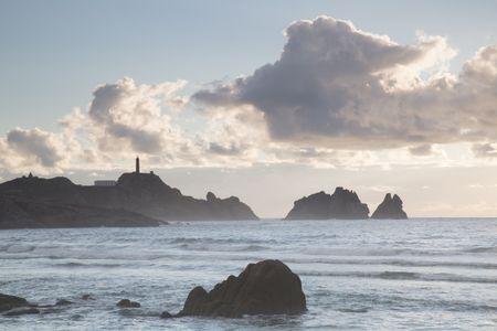 Vilan Point Lighthouse; Costa de la Muerte; Galicia; Spain