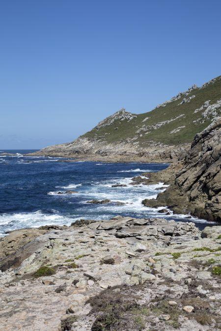 Coastline in Northern Spain