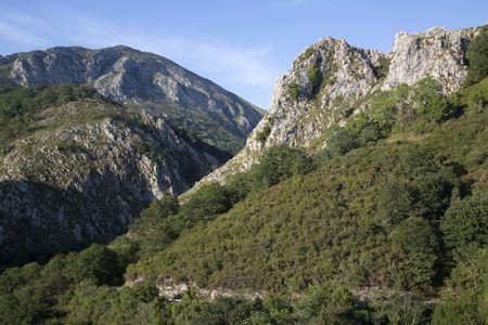 Picos de Europa Mountain Range outside Labra, Spain