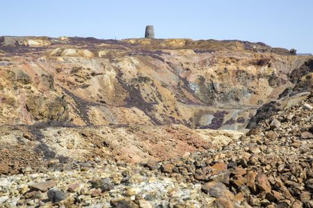 Parys Mountain Copper Mine; Amlwch; Wales; UK