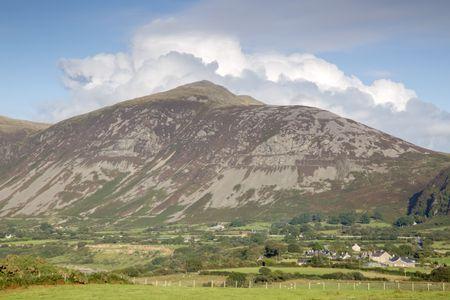 Mountain Peaks at Trefor; Caernarfon; Wales; UK