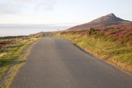 Yr Eifl Mountains near Llithfaen; Pwllheli; Llyn Peninsula; Wales; UK