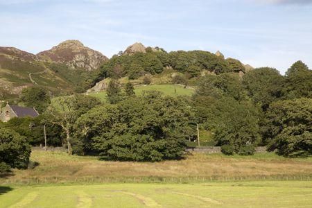 Mountain Peak, Capel Curig, Snowdonia, Wales, UK