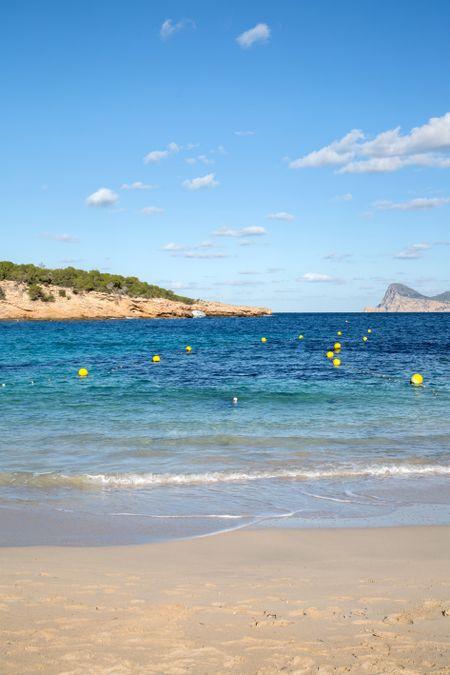 Cala Bassa Cove Beach, Ibiza; Spain