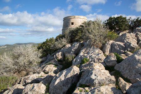 Savinar or Pirata Tower; Ibiza; Spain
