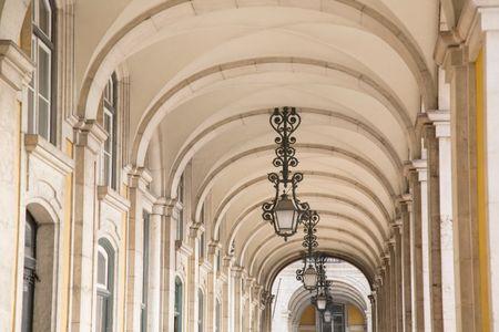 Commerce Square - Praca do Comercio; Lisbon; Portugal