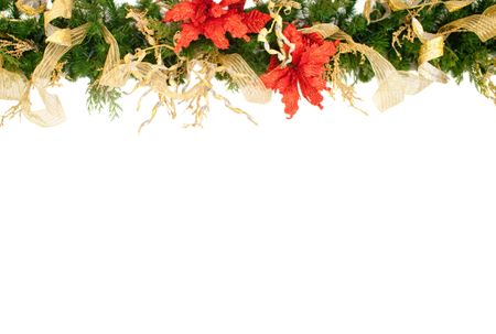 Christmas decoration - isolated over a white background