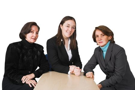 Business female management team in a corporate environment 2