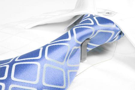 business tie, white shirt