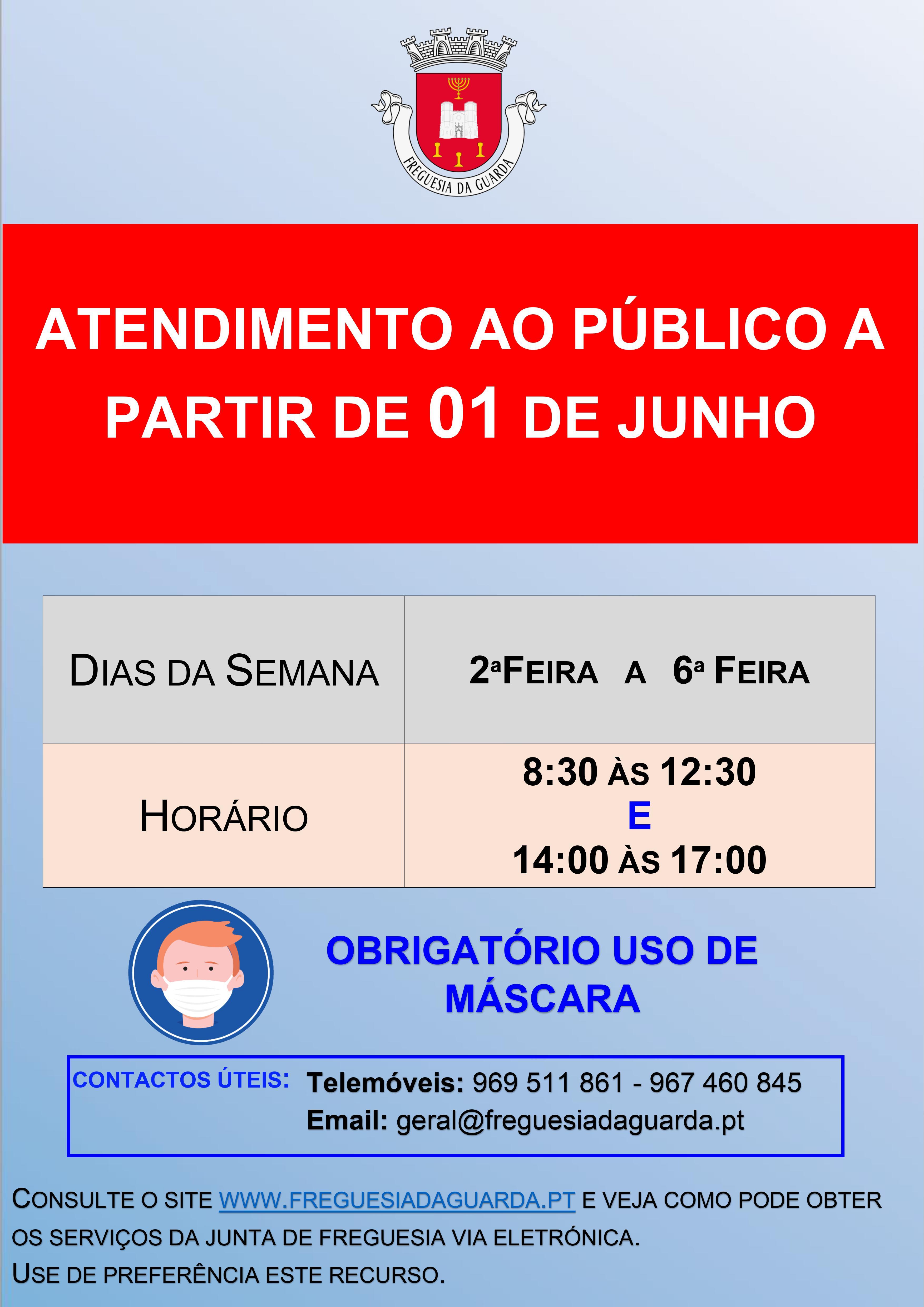 Reabertura do Serviço Diário de Atendimento...