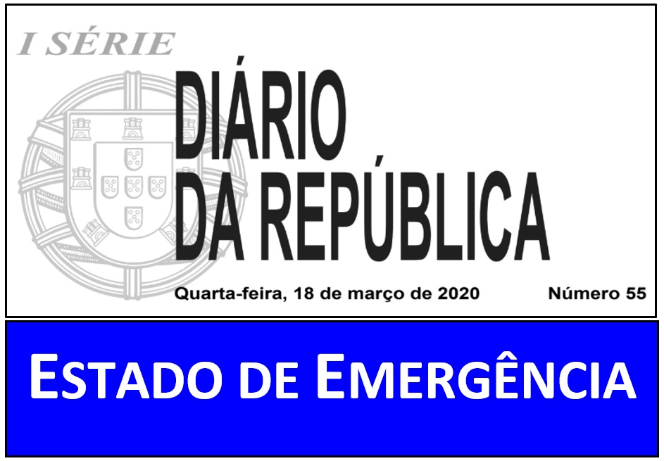 Diário da República - Decreto do Presidente da República de Estado de Emergência