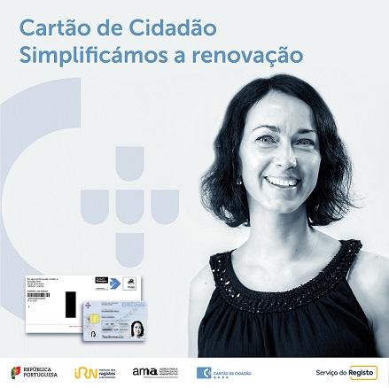 Renovação automática do Cartão de Cidadão