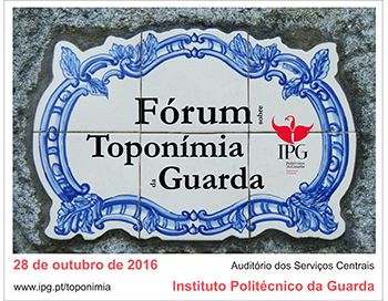V Fórum de Toponímia da Guarda
