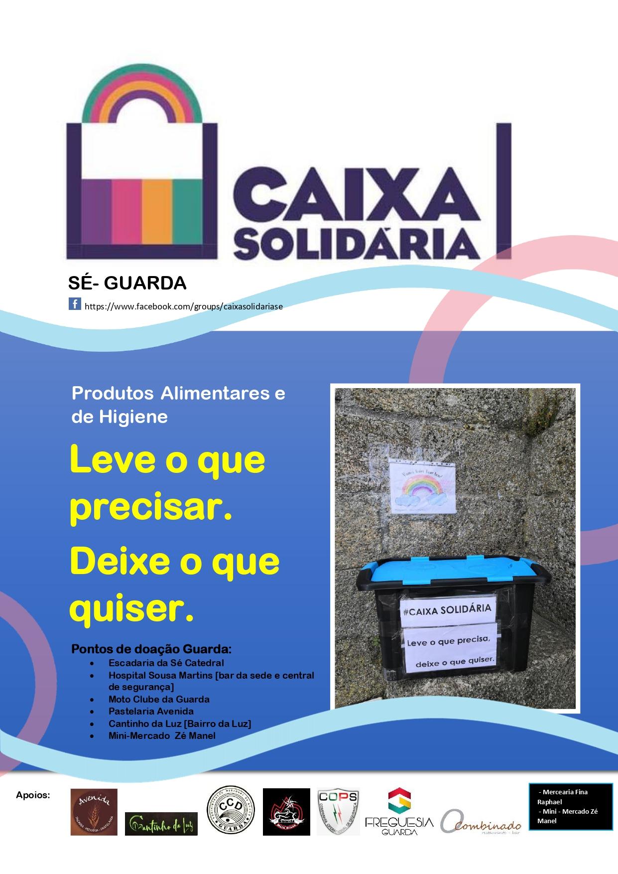 """Movimento """"Caixa Solidária da Sé"""""""