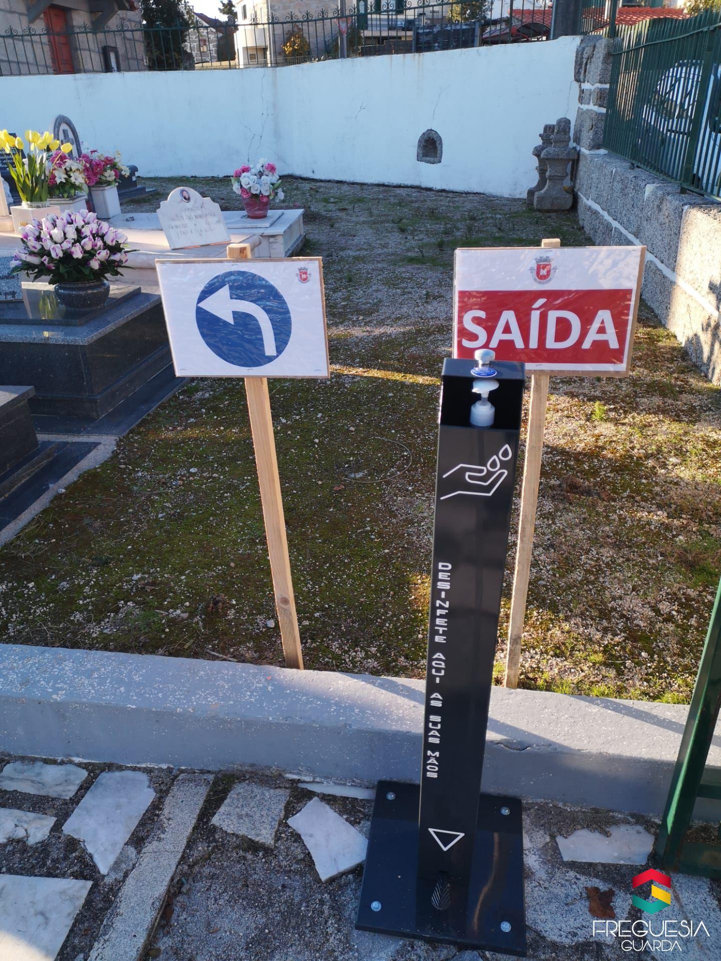 Ampliação do Cemitério da Guarda Gare
