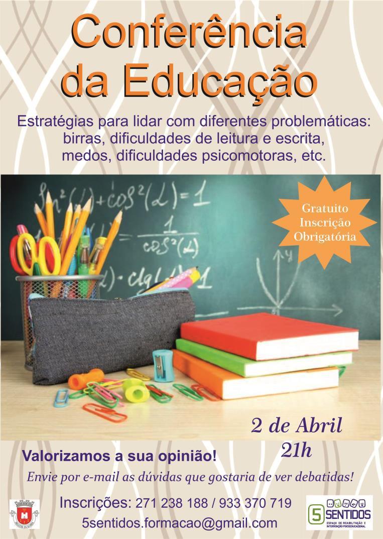 """2ª"""" Conferência da Educação"""""""