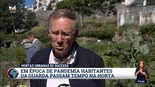 """""""Hortas da Guarda"""" - reportagem da TVI"""