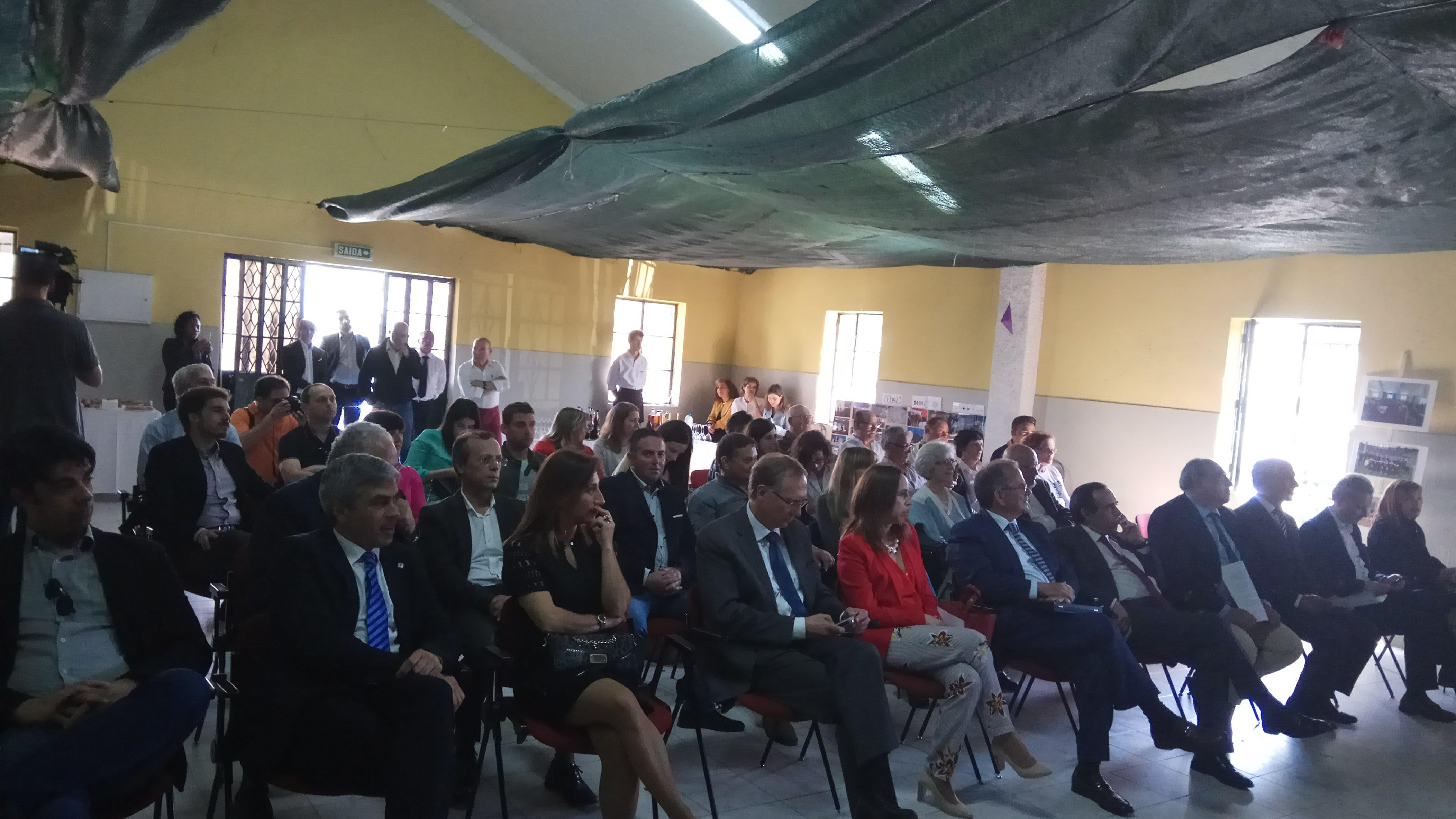 Assinatura do Protocolo do Projeto de Intervenção na Casa do Povo dos Galegos...