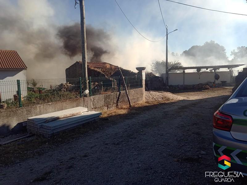 Fogo Rural no Noéme de Baixo