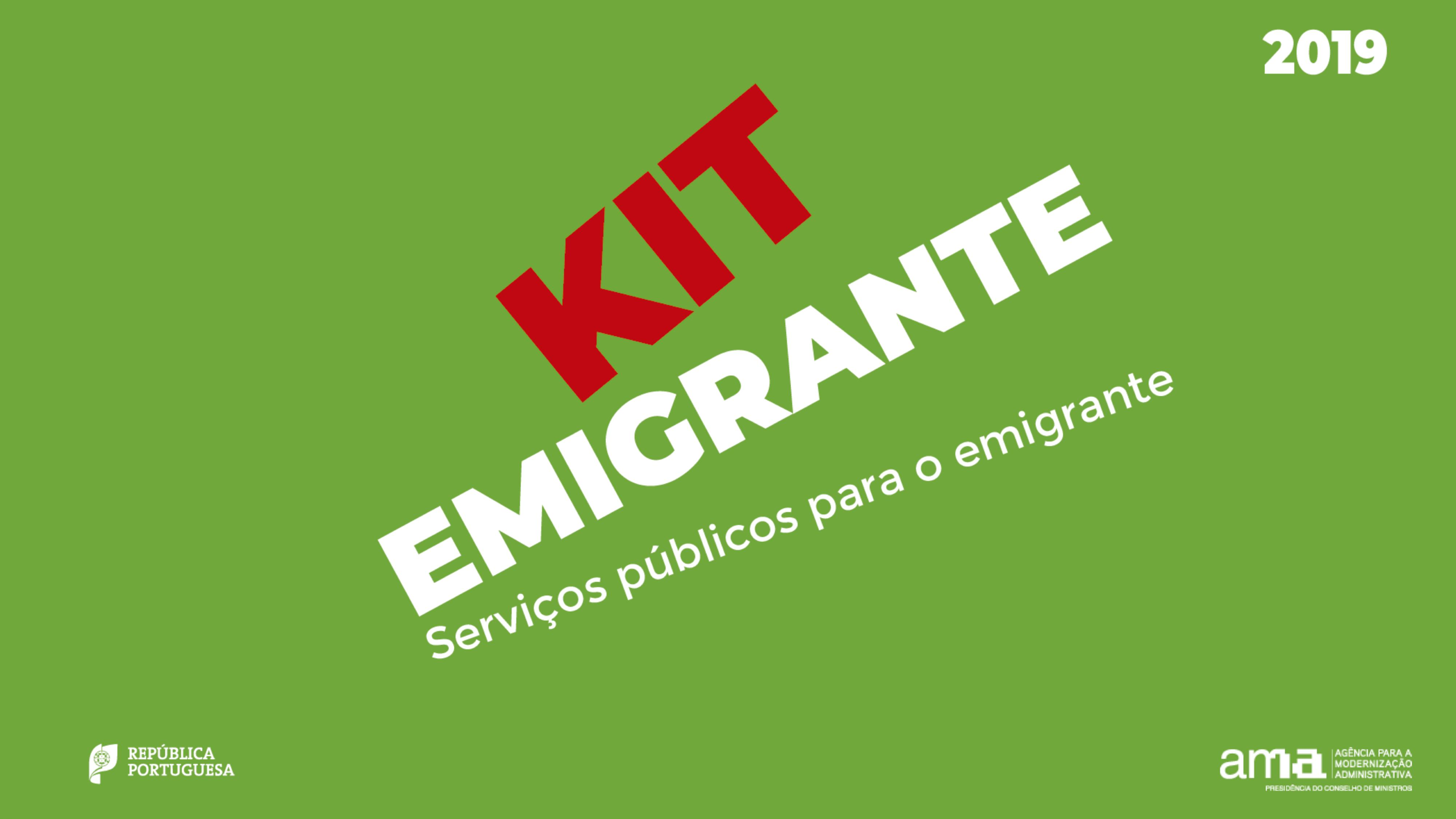 """KIT Emigrante"""