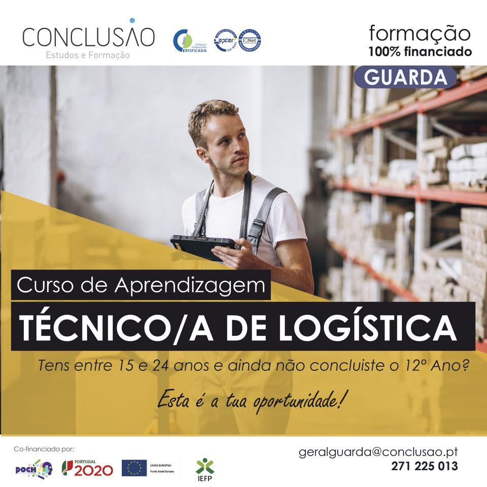 Curso de aprendizagem – técnico de logistica