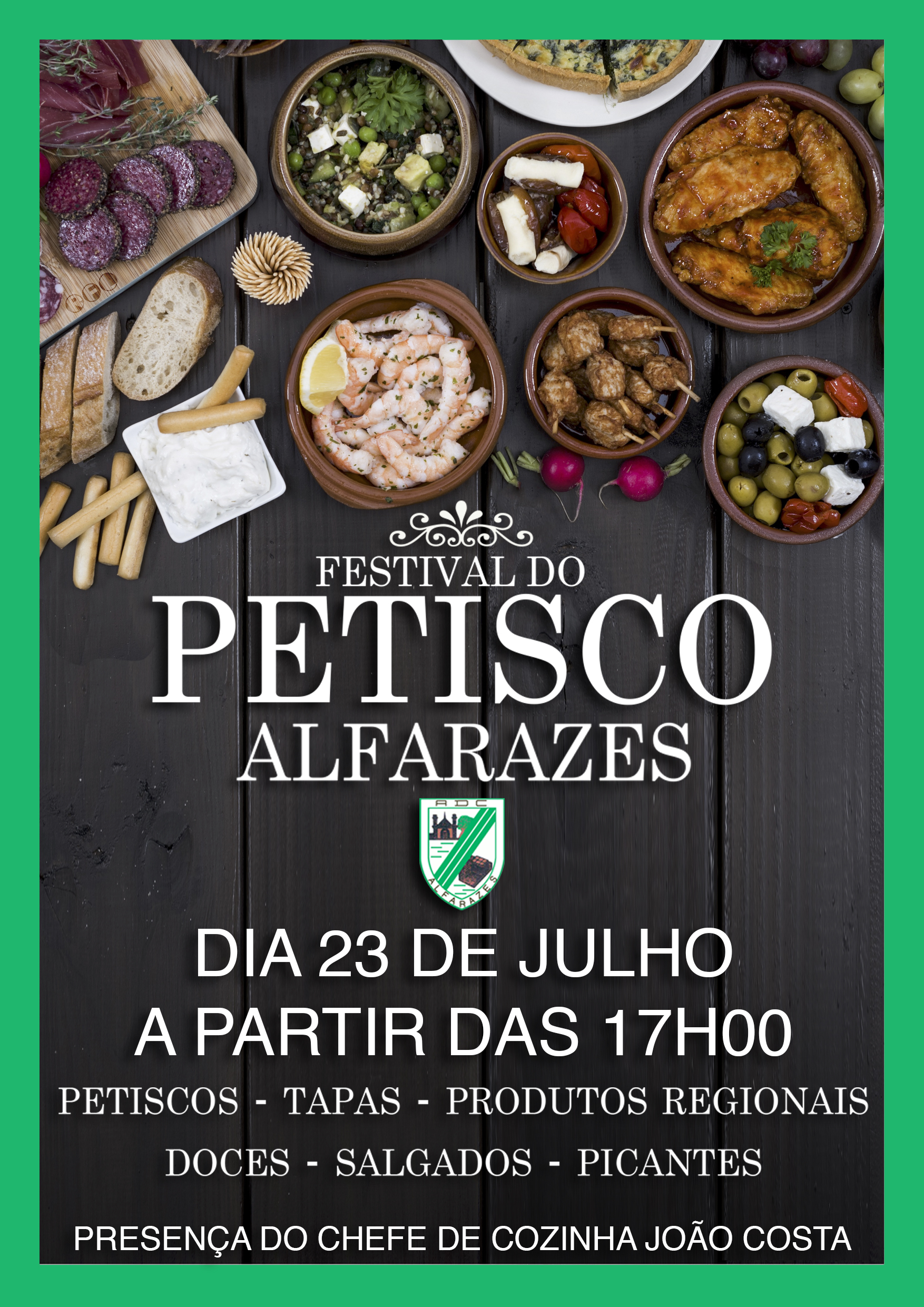 Festival do Petisco em Alfarazes